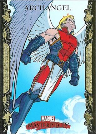 2007 Marvel Masterpieces (Parallel Gold Border Base Set) 5-A