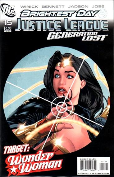 Justice League: Generation Lost 15-B by DC