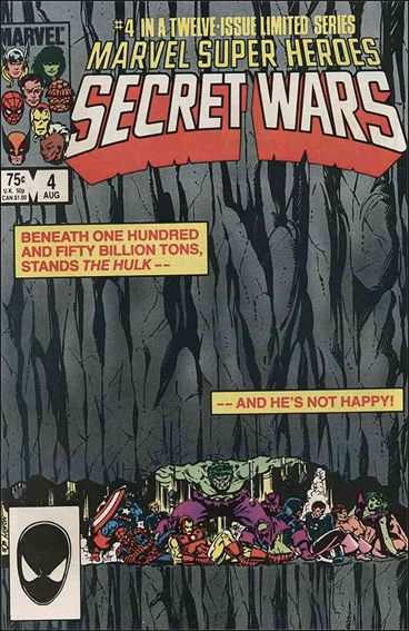 Marvel Super Heroes Secret Wars 4-A by Marvel