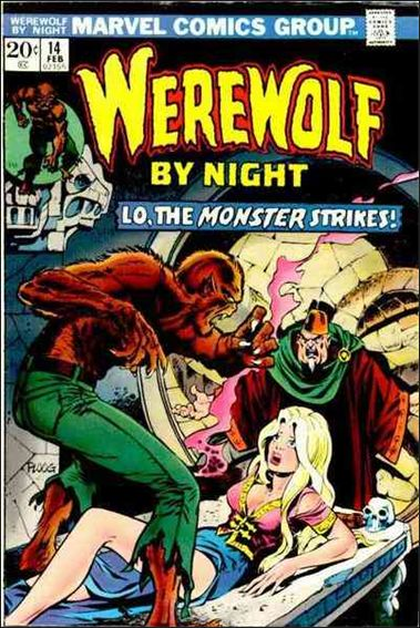 Werewolf by Night (1972) 14-A by Marvel