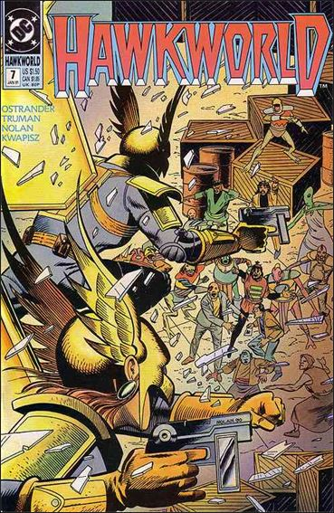 Hawkworld (1990) 7-A by DC