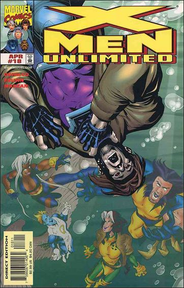 X-Men Unlimited (1993) 18-A by Marvel