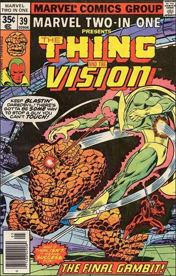 Marvel Two-In-One (1974) 39-A by Marvel