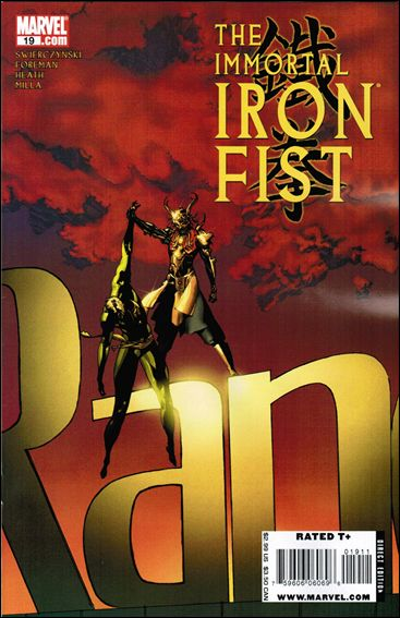 Immortal Iron Fist 19-A by Marvel