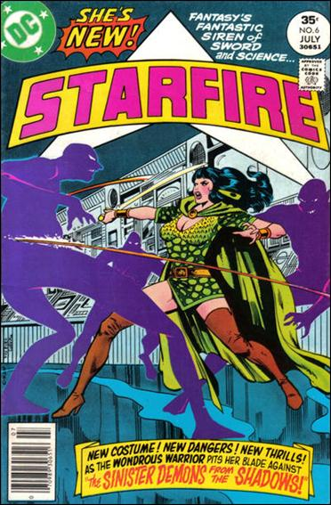 Starfire (1976) 6-A by DC
