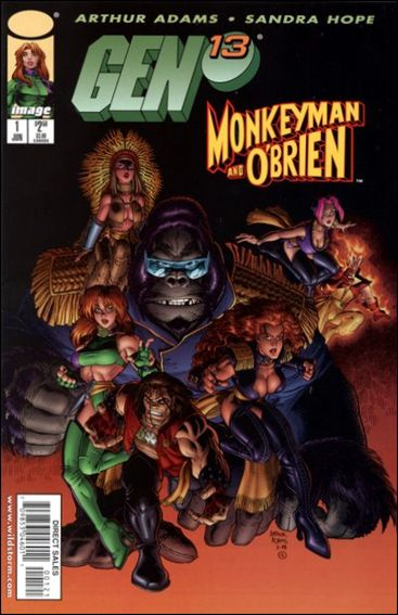 Gen13/Monkeyman & O'Brien 1-B by Image