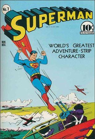 Superman (1939) 7-A