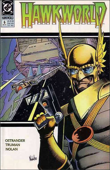 Hawkworld (1990) 6-A by DC
