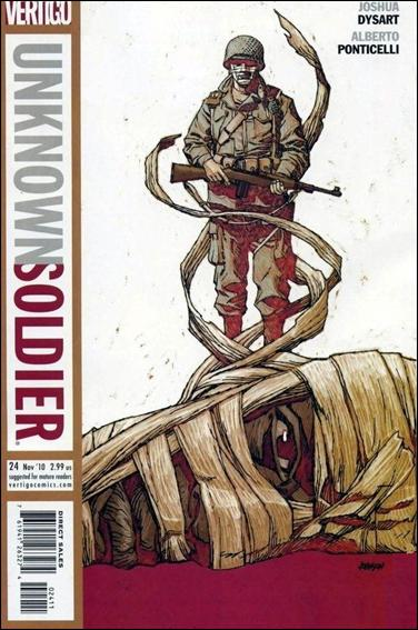 Unknown Soldier (2008) 24-A by Vertigo
