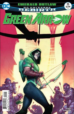 Green Arrow (2016) 15-A