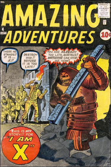 Amazing Adventures (1961) 4-A by Marvel