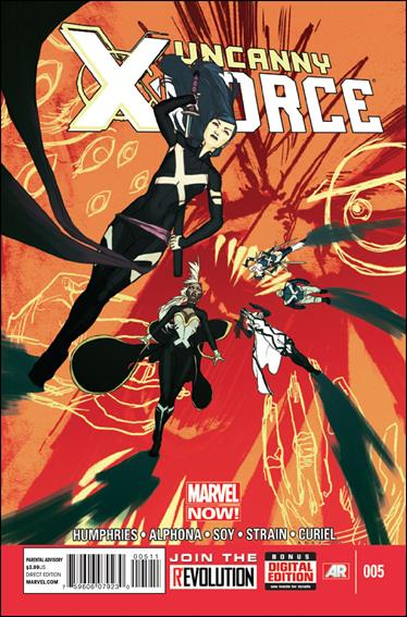 Uncanny X-Force (2013) 5-A by Marvel