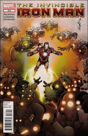 Invincible Iron Man (2008) 512-A by Marvel