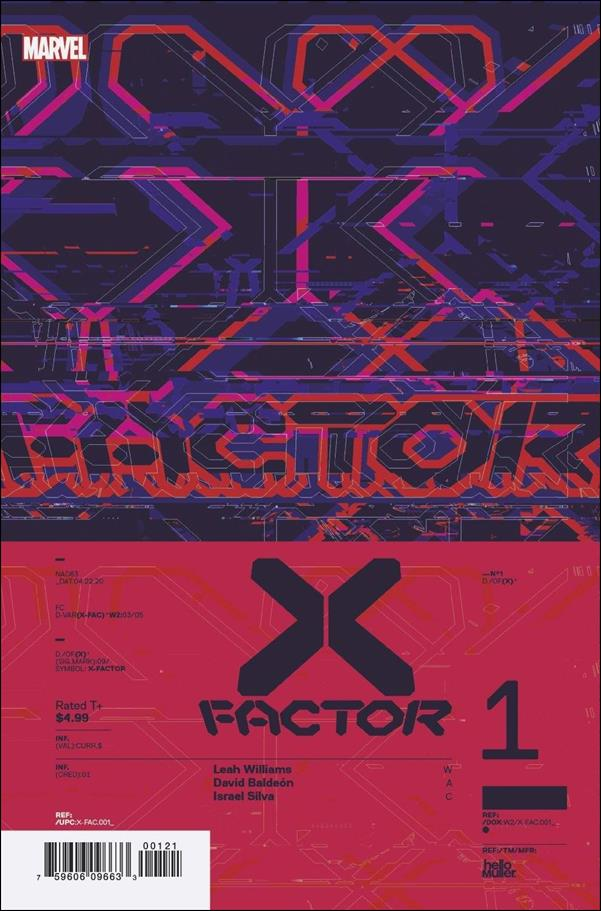 X-Factor (2020) 1-C by Marvel