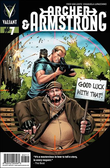 Archer & Armstrong (2012) 7-A by Valiant Entertainment