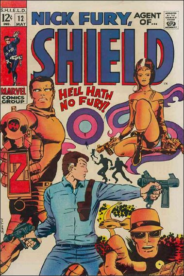 Nick Fury, Agent of S.H.I.E.L.D. (1968) 12-A by Marvel