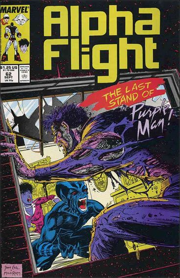 Alpha Flight (1983) 62-A by Marvel