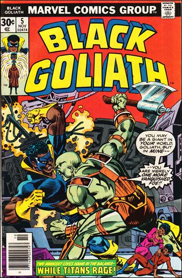 Black Goliath 5-A by Marvel