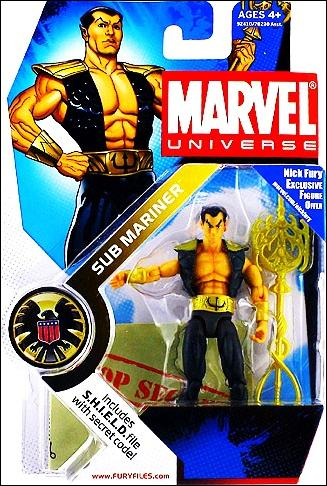 Marvel Universe (Series 1) Sub Mariner by Hasbro