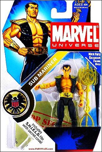 Marvel Universe (Series 1) Sub Mariner by Hasbro