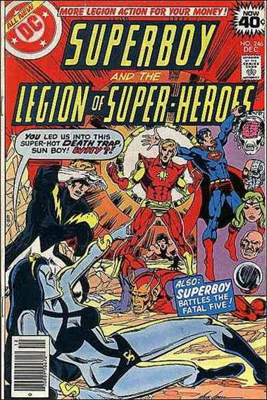 Superboy & the Legion of Super-Heroes 246-A by DC