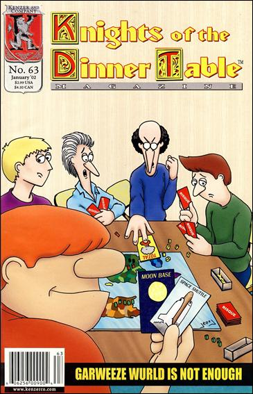 Knights of the Dinner Table (1997) 63-A by Kenzer and Company
