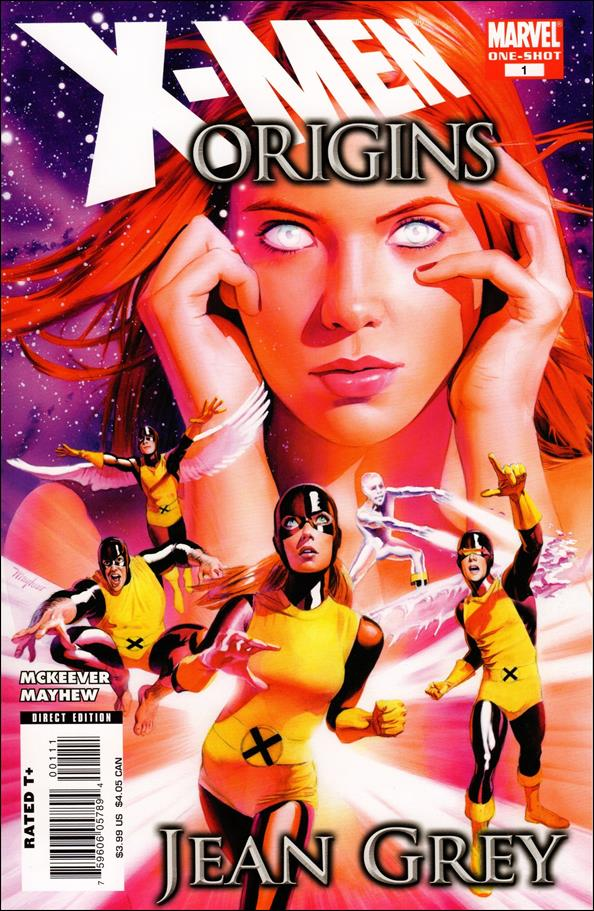 X-Men Origins: Jean Grey 1-A by Marvel