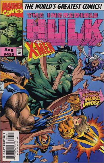 Incredible Hulk (1968) 455-A by Marvel