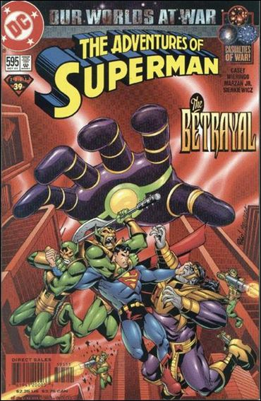 Adventures of Superman (1987) 595-A by DC