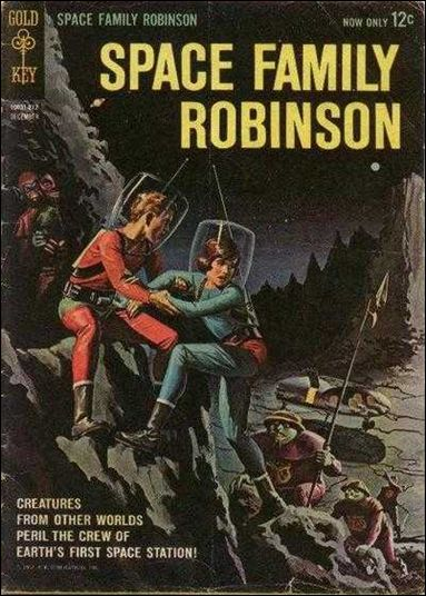 Space Family Robinson 1-A by Gold Key
