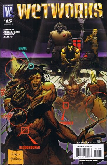 Wetworks (2006) 15-A by WildStorm