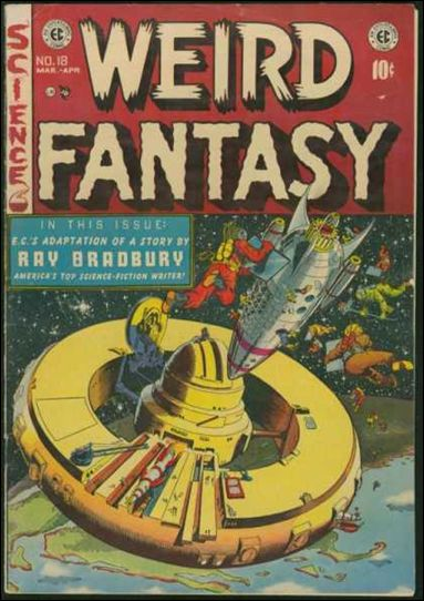 Weird Fantasy (1950) 18-A by E.C.
