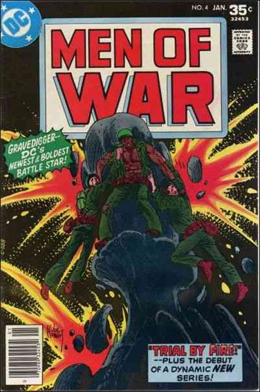Men of War (1977) 4-A by DC