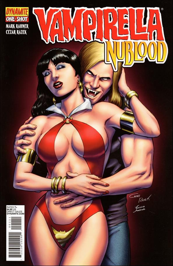 Vampirella: Nublood 1-A by Dynamite Entertainment