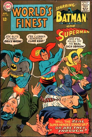 World's Finest Comics 168-A by DC