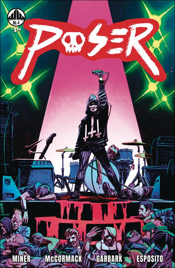 Poser 4-A by Waxwork Comics