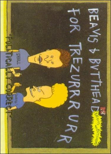 Beavis and Butt-Head (Base Set) '0969'-A by Fleer