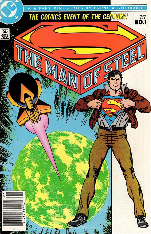 Man of Steel 1-A by DC