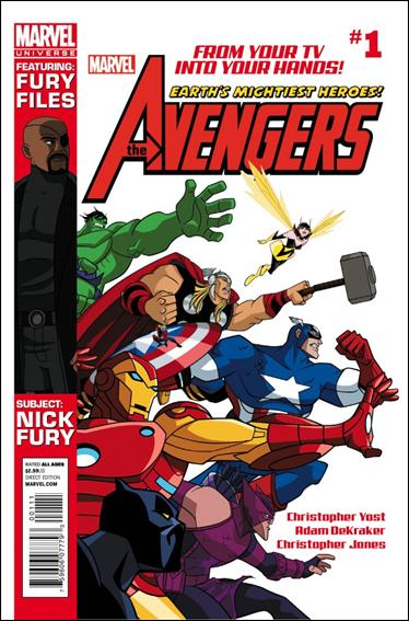 Avengers Earth's Mightiest Heroes (2012) 1-A by Marvel