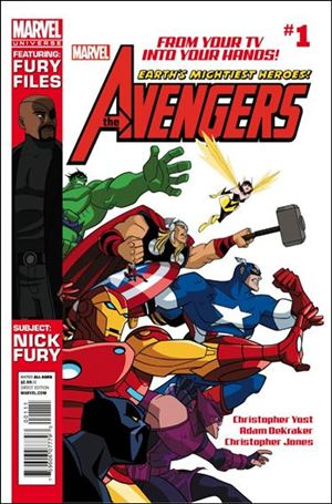 Avengers Earth's Mightiest Heroes (2012) 1-A