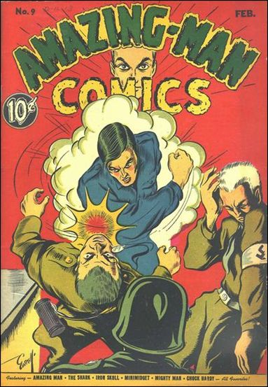 Amazing Man Comics 9-A by Centaur Publications Inc.