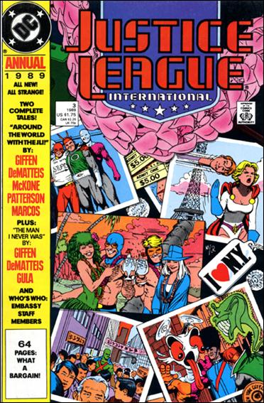 Justice League International Annual (1988) 3-A by DC