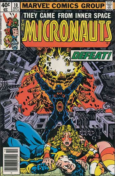Micronauts (1979) 10-A by Marvel
