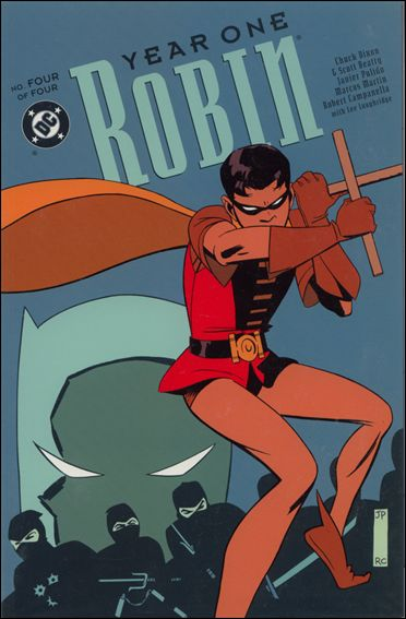Robin: Year One 4-A by DC