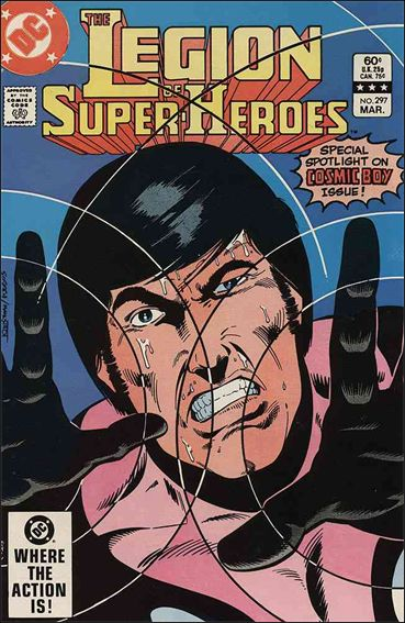 Legion of Super-Heroes (1980) 297-A by DC