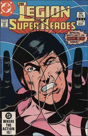 Legion of Super-Heroes (1980) 297-A