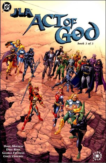 JLA: Act of God 3-A by DC