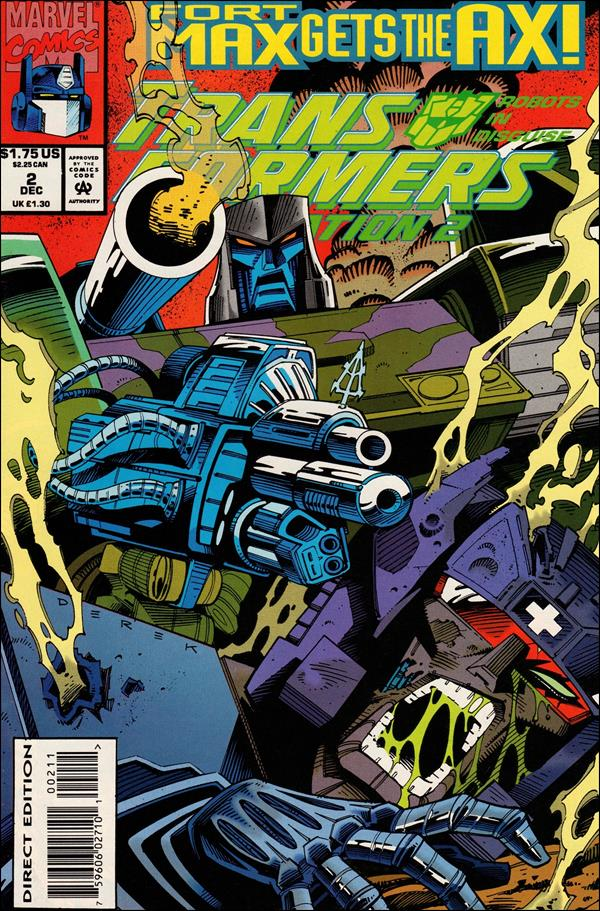 Transformers: Generation 2 (1993) 2-A by Marvel