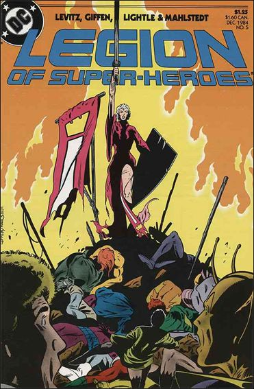 Legion of Super-Heroes (1984) 5-A by DC
