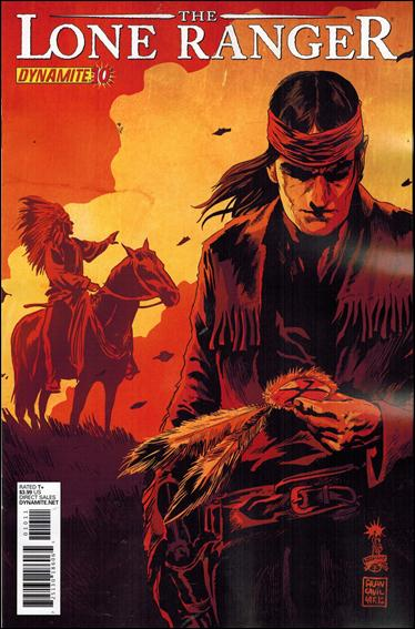 Lone Ranger (2012) 10-A by Dynamite Entertainment